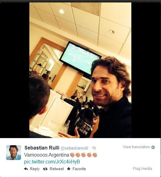 Sebastián Rulli muy orgulloso de su selección argentina. Todo sobre el M...