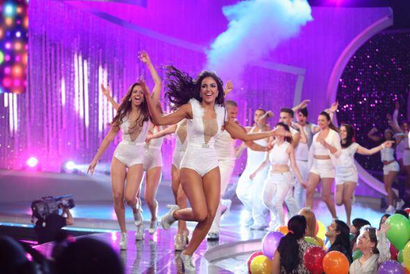 El juez subió al escenario de Nuestra Belleza Latina para cantar...