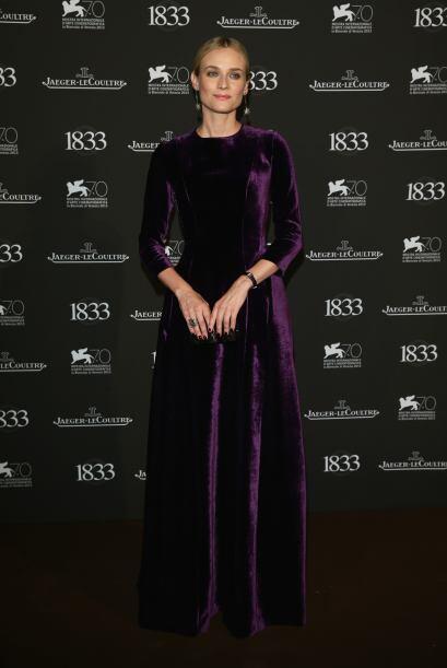 El buen gusto por vestir de Diane Kruger quedó de lado cuando se...