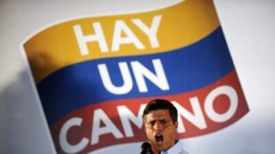 Henrique Capriles, gobernador de Miranda, ganó las elecciones primarias...