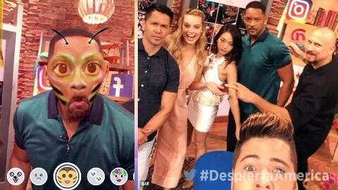 """El elenco de """"Suicide Squad"""" tomó nuestras redes sociales con ayuda de W..."""