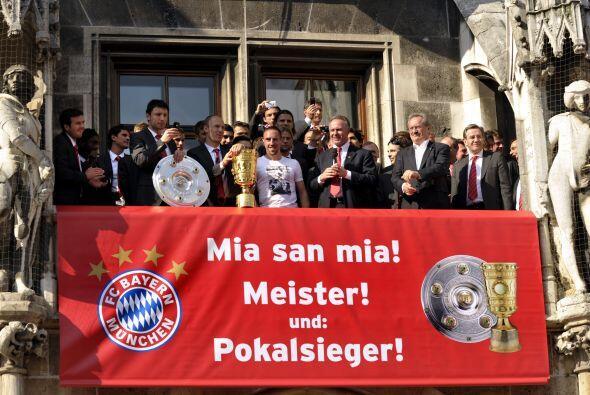 Otro club que recuperó parte de su poderío fue el Bayern Munich, que gan...