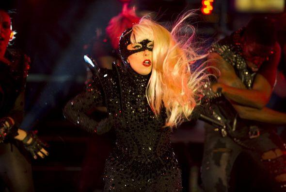 Lady Gaga fue una de las más aplaudidas y vitoreadas en la gala de bienv...