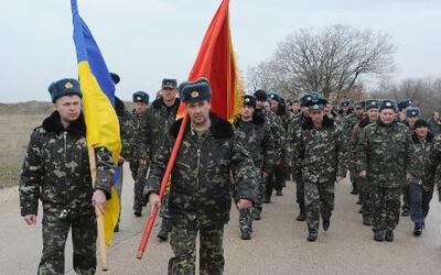 Conato de enfrentamiento entre soldados rusos y ucranianos