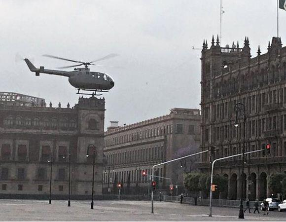El agente 007 invadió las calles de Ciudad México para la grabación de l...