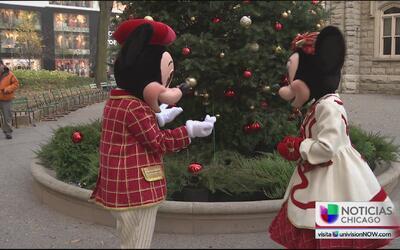 Así se preparan Mickey y Minnie Mouse para el Festival de Luces de la Mi...