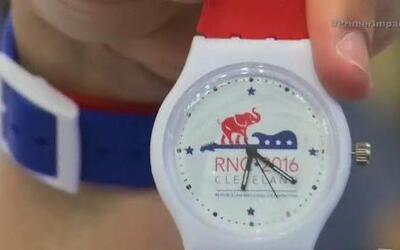 Puertorriqueña diseño el reloj oficial de la Convención Republicana