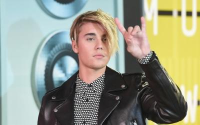 Justin Bieber en los MTV VMA's.