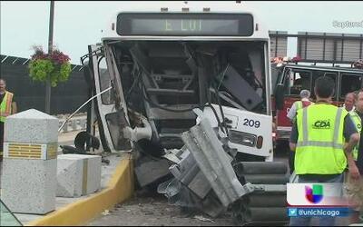 Accidente en O'Hare deja 14 heridos