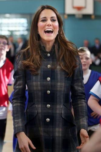 Parece que el tiro de la princesa Middleton no encestó.