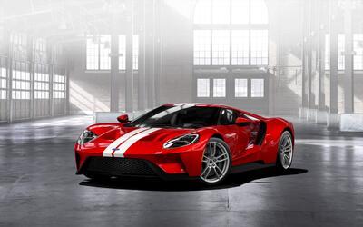 Ford solo construirá 500 ejemplares del Ford GT durante los años 2017 y...