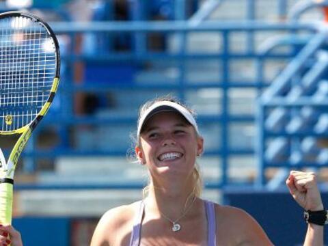 #1 La hermosa danesa Caroline Wozniacki con 9.740 puntos.