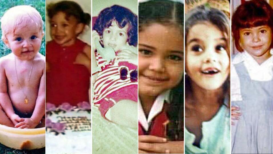 Angelique Boyer; JLo; giselle Blondet; Karla Martinez; Paulina Goto; Sha...