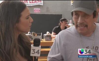 Danny Trejo quiere conquistar el mundo de las taquerías