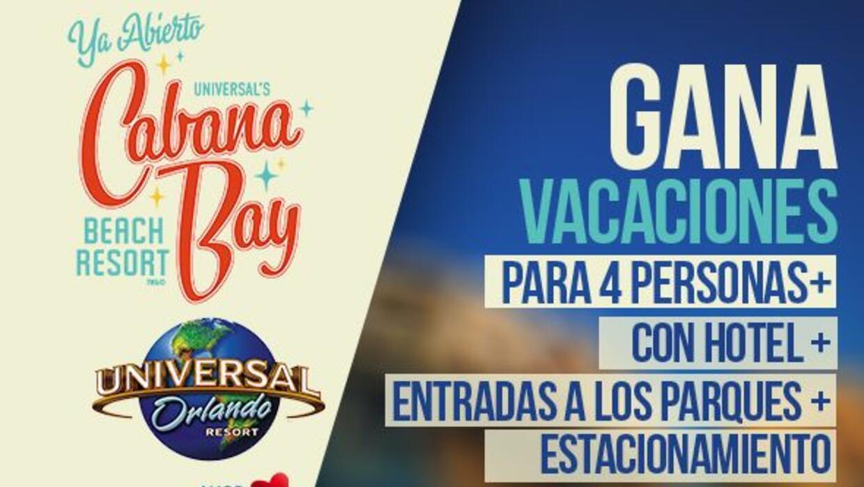 Inscribete por la oportunidad de pasar unas super vacaciones en Universa...