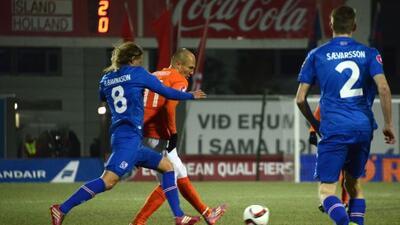 Robben y el resto de figuras holandesas no pudieron hacer frente al orde...
