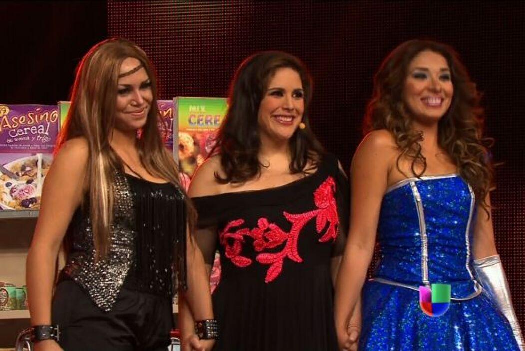 Natalia Jiménez y Paulina Rubio cambiaron por Belinda y Gloria Trevi, da...