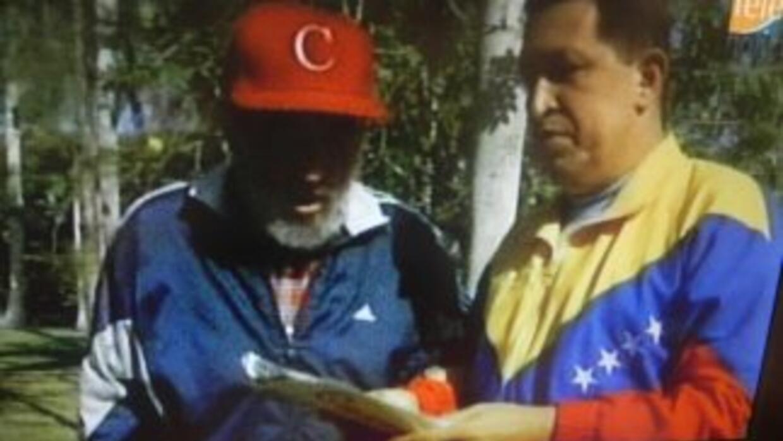 Bueno, todos sabemos que Hugo Chávez está en su amada metrópoli. Hasta a...
