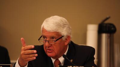 Rob Bishop, líder del Comité de Recursos Naturales de la C...