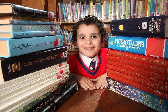 Sarabi, quien se supone que esté en el preescolar, ya estudia al nivel d...