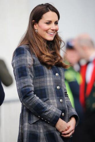 Y la princesa de Cambridge parece que está disfrutando tanto de su estado.