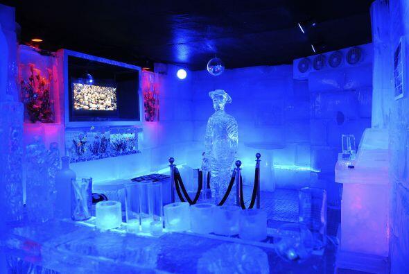 La temperatura en el exótico bar oscilará entre los 6 y 8...