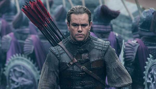 Matt Damon en 'The Great Wall'