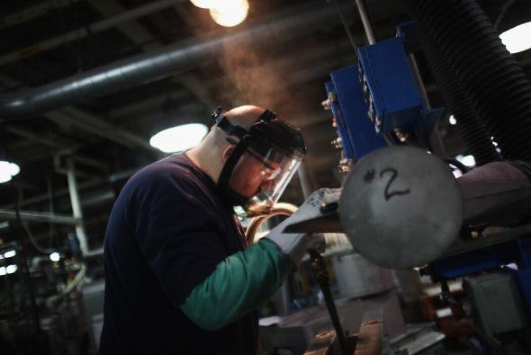 Fabricación  % de latinos que la desarrollan- 15.3%  ¿Qué actividades so...