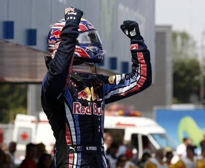 GP de ESPA'A, 9 de mayoWebber dominó la carrera de principio a fi...