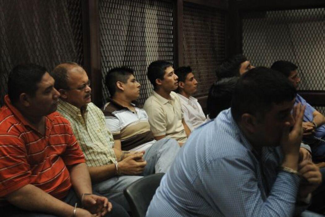 También recibieron penas de 313 años los guatemaltecos Saúl Ricardo Salg...