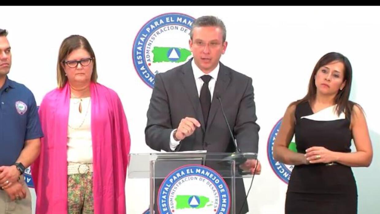Gobernador de Puerto Rico: Conferencia de prensa sobre el zika