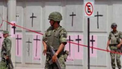 Alrededor de 160 mil desplazados huyen de la narcoviolencia en México 07...