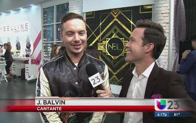 J Balvin agradece su éxito al público