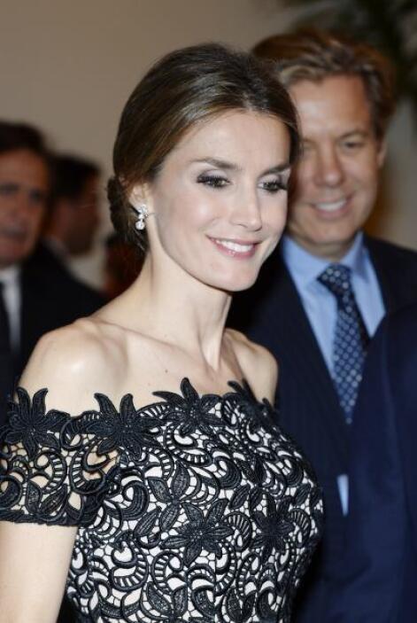 Por su parte, la Princesa de Asturias destacó por su elegancia.