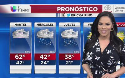 Lluvia en Chicago, el pronóstico para el último día de febrero
