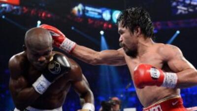 Timothy Bradley contra Manny Pacquiao desde Las Vegas.