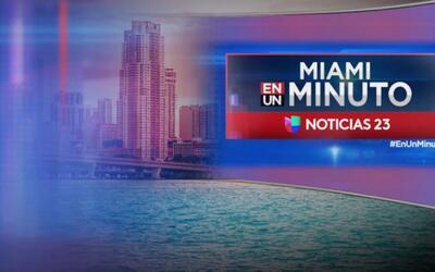 'Miami en un Minuto': tiroteo en Miami Gardens dejó una persona muerta y...