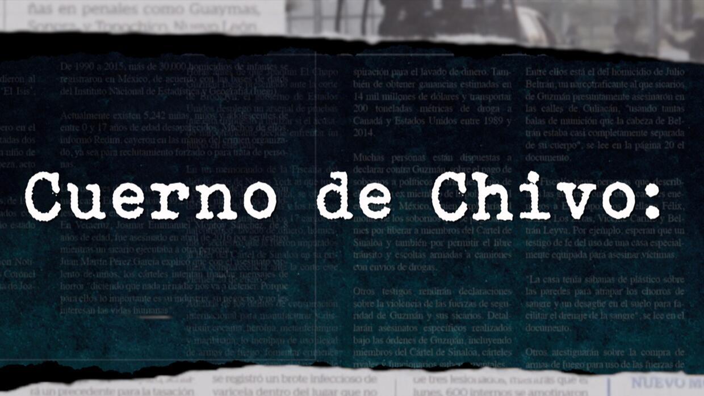 Diccionario Narco: Cuerno de chivo