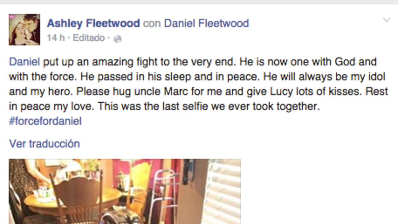 Muere el joven enfermo que pudo ver la última película de Star Wars ante...