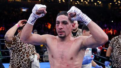 García venció a Malignaggi.