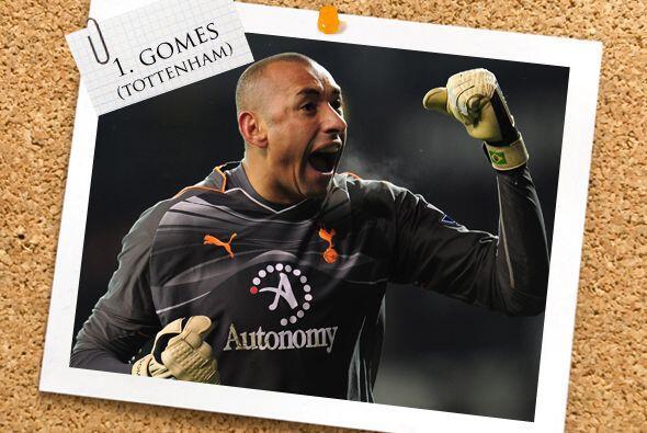 El arquero elegido es el brasileño Gomes, que resultó fundamental para q...