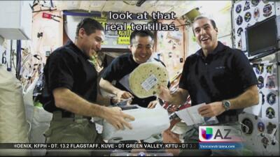 ¡Tortillas de Arizona se hacen famosas en el espacio!  8C83B005149746B78...