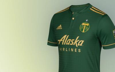 Portland Timbers camiseta uniforme 2017