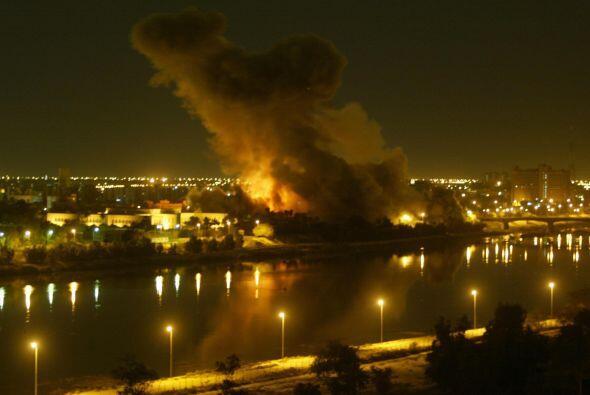 Basados en reportes mentirosos que daban cuenta de que Irak poseía armas...