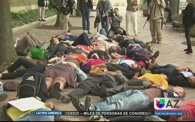 Protestas por Ferguson sacuden Washington