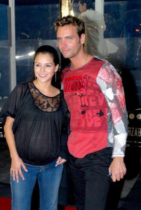 Grettel Valdez y Patricio Borghetti tuvieron la fortuna de ser padres Sa...