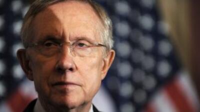 Pese al optimismo demócrata, Harry Reid no ha dicho su podrá reunir los...