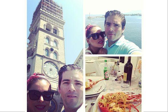 """@GalileaMontijo: """"Luna de miel!!!#pasta   #vino #miamor@reinaiglesias..."""