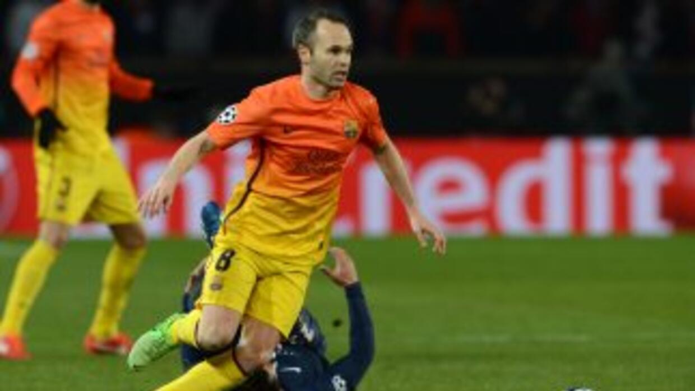 Iniesta se lamentó por las lesiones de Mascherano y Messi.