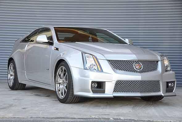 El CTS coupé 2011 es el nuevo deportivo de lujo de Cadillac.